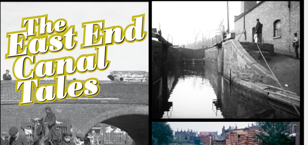 June 24th Zoom Talk Carolyn Clark's 'The East End Canal Tales'